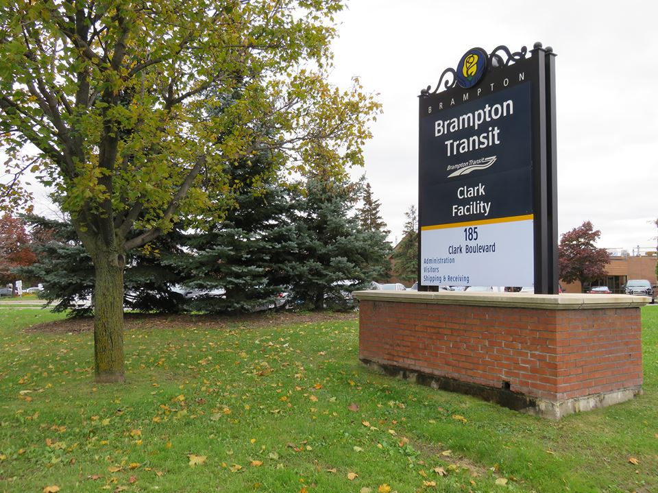 Brampton Transit Clark Facility