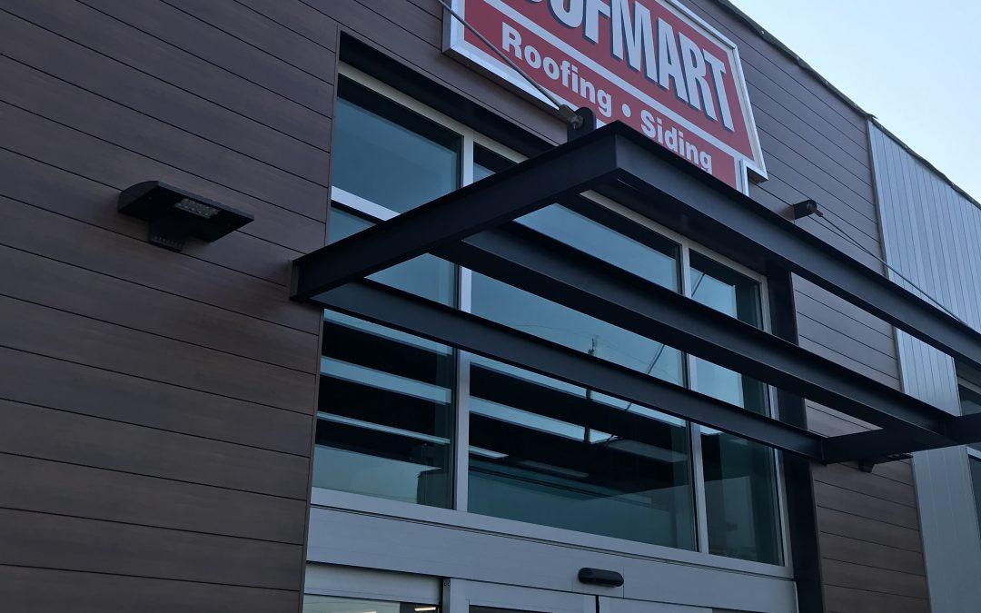 Roofmart Hamilton Location Renovations