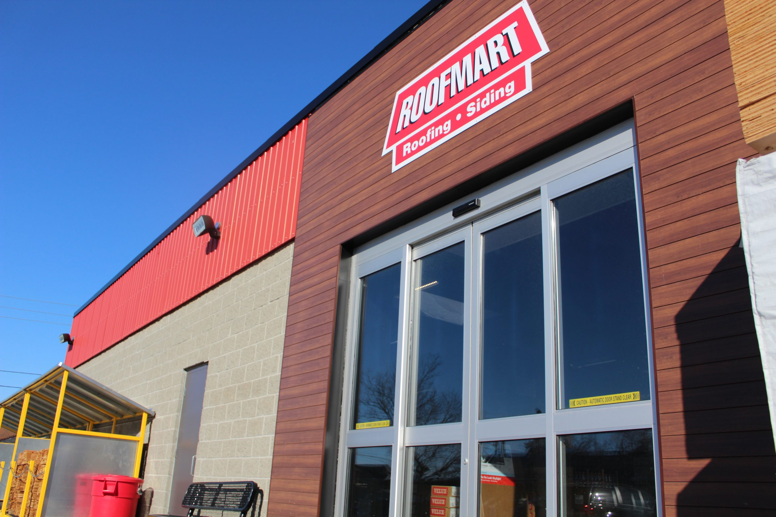 Roofmart Connie Street Location Renovations